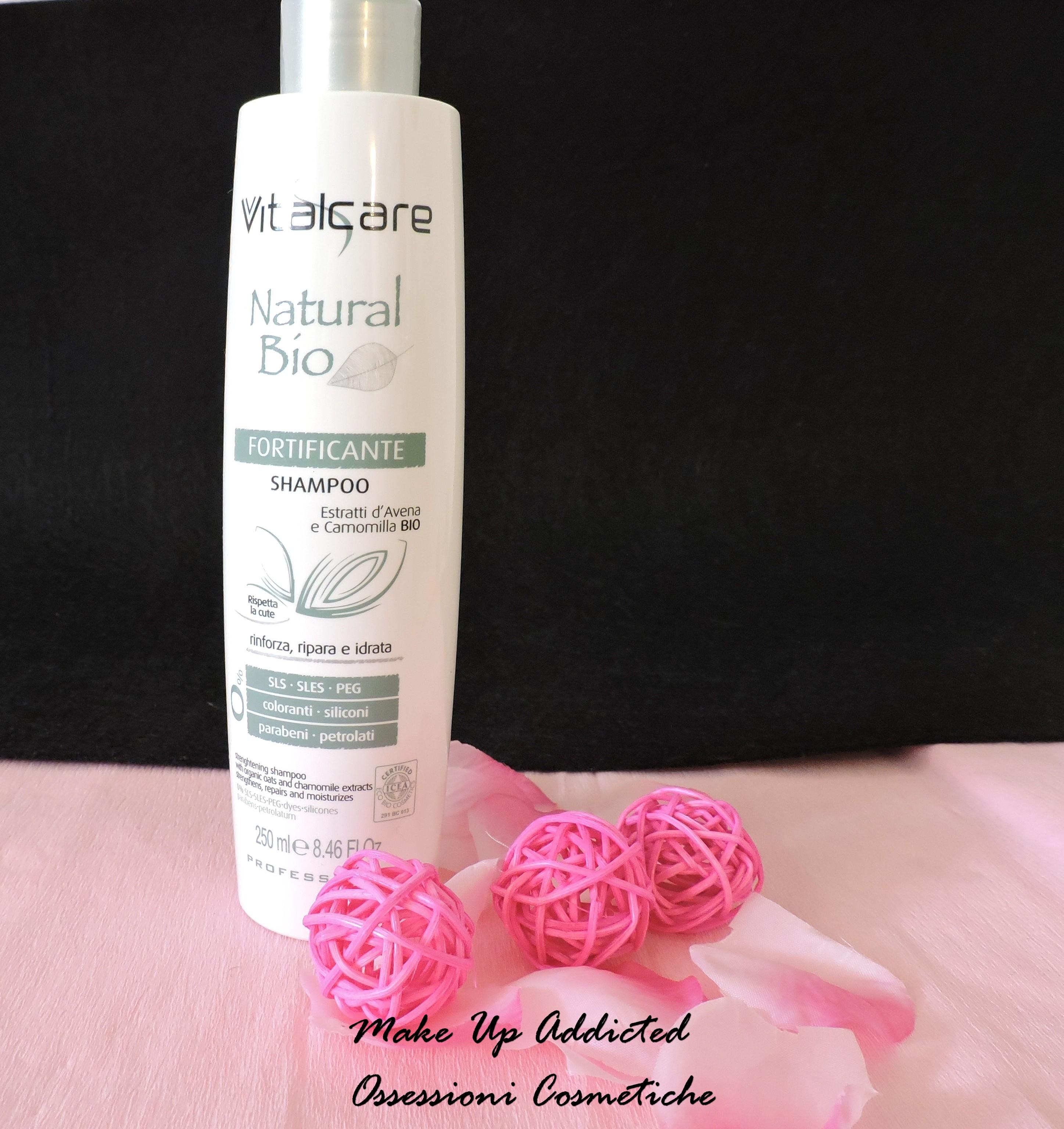 shampoo fortificante vitalcare natural bio