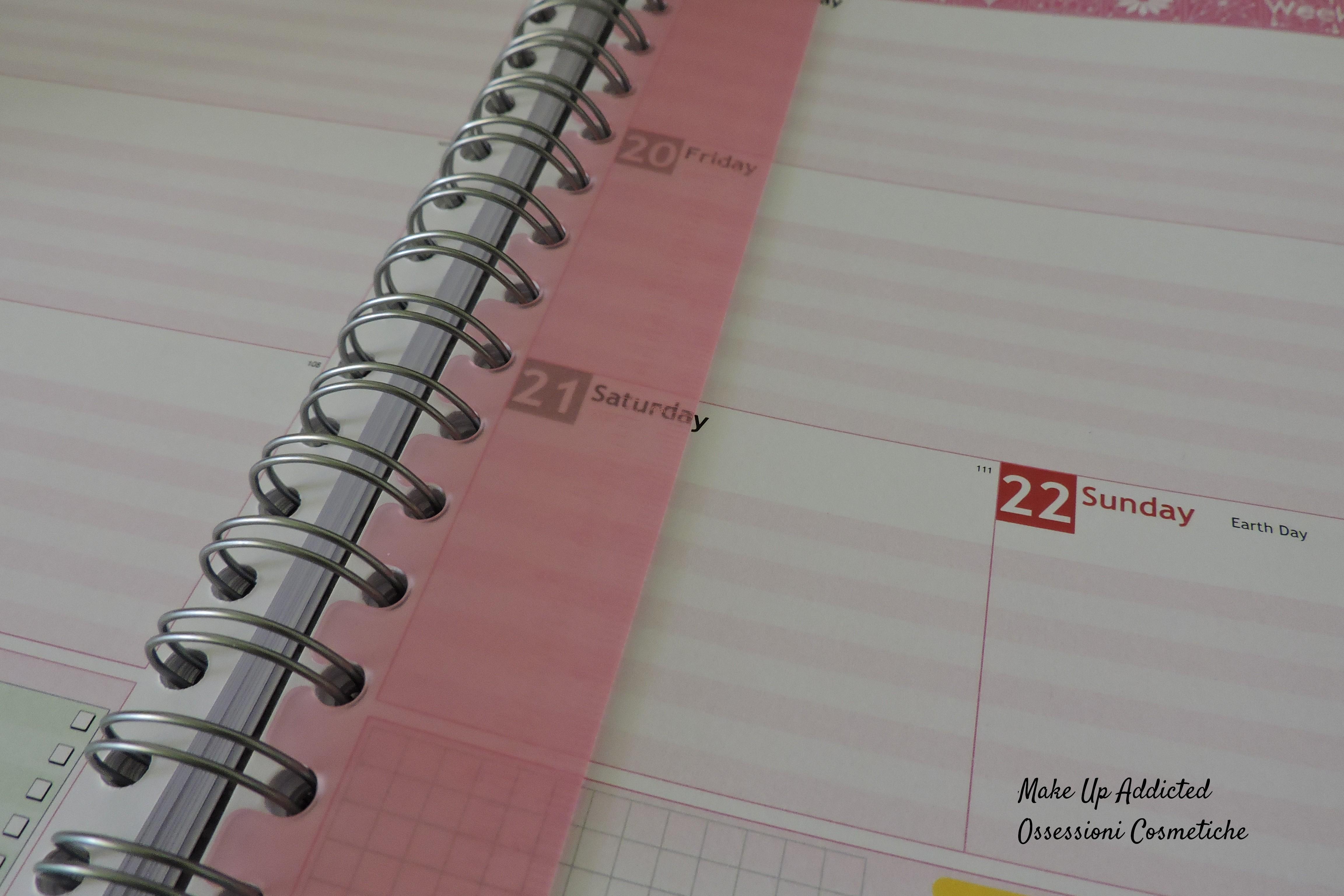 agenda personalizzata